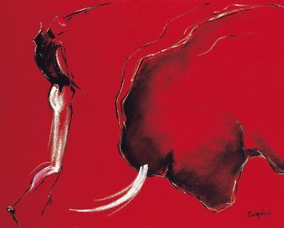 Corrida II-Pascal Guerineau-Art Print