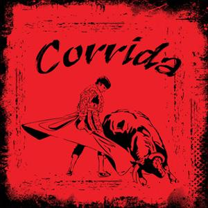 Corrida - Red Bullfight Sign