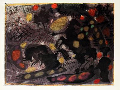 Corrida-Pablo Picasso-Collectable Print