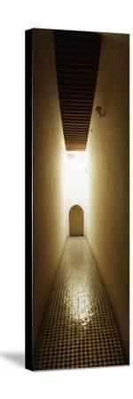 Corridor Inside the Bahia Palace, Marrakesh, Morocco