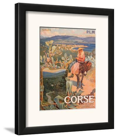 Corse--Framed Art Print