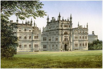 Corsham Court, Wiltshire, Home of Lord Methuen, C1880-Benjamin Fawcett-Giclee Print