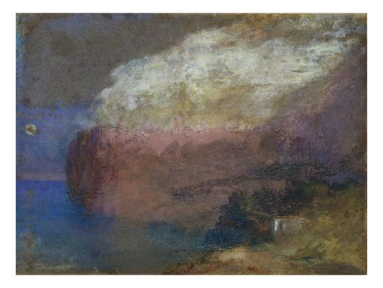Corsica, a Wooded Headland, c.1828-J^ M^ W^ Turner-Giclee Print