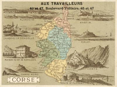 Corsica--Giclee Print