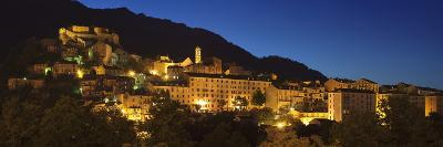 Corte, Corsica, France, Mediterranean, Europe-Markus Lange-Photographic Print