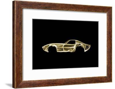 Corvette C3-Octavian Mielu-Framed Art Print
