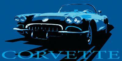 Corvette-Malcolm Sanders-Giclee Print
