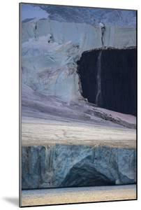 A Glaciated Landscape of Franz Josef Land from a Passing Ship by Cory Richards