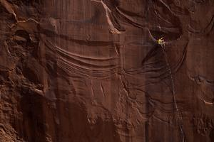 A Rock Climber Conception in Day Canyon Outside Moab by Cory Richards