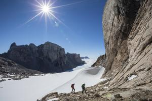 Climbers Approach Bertha's Tower, a 2,000-Foot Spire by Cory Richards