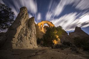 Grosvenor Arch, a Sandstone Double Arch in Grand Staircase-Escalante National Monument by Cory Richards