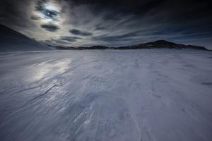 The Wind Blown Ice Cap of the Wohlthat Mountains by Cory Richards
