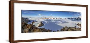 The Wolthat Mountains in Antarctica's Queen Maud Land by Cory Richards
