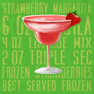 Strawberry Margarita (Square) by Cory Steffen