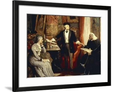 Cosima--Framed Giclee Print