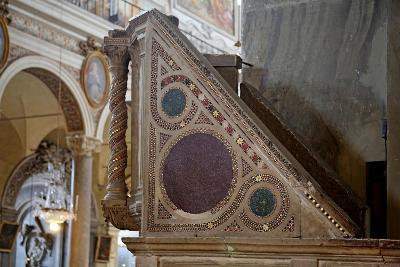Cosmatesque Pulpit--Giclee Print