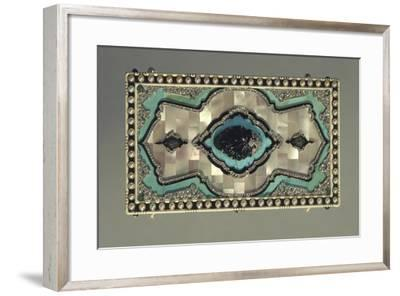 Cosmetics Box with Mother-Of-Pearl Plaques--Framed Giclee Print