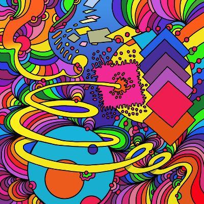 Cosmic Bang-Howie Green-Giclee Print