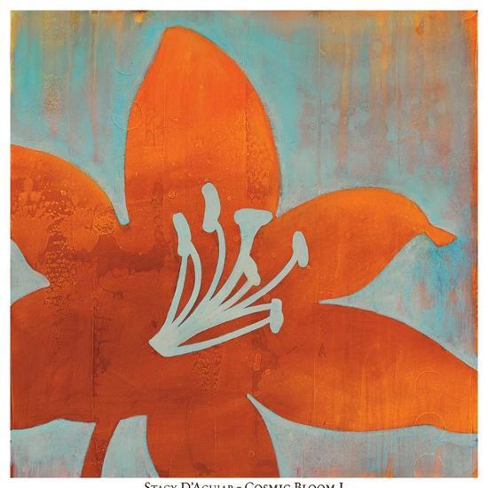 Cosmic Bloom I-Stacy D'Aguiar-Art Print