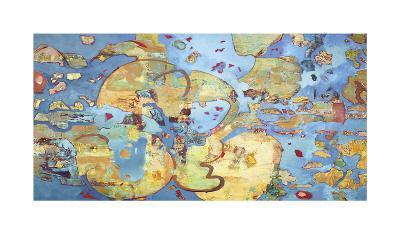 Cosmic Breakup-Judith D'Agostino-Giclee Print