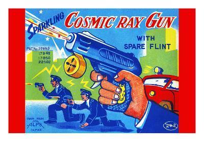 Cosmic Ray Gun--Art Print