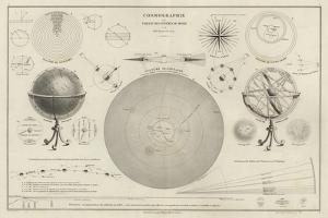 Cosmography, a Collection of Diagrams on Various Planetary Systems