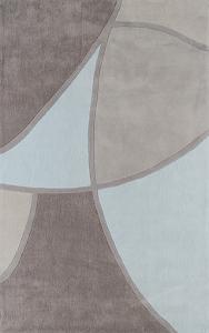 Cosmopolitan Geometra Area Rug - Sky Blue/Light Gray 5' x 8'