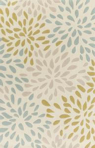 Cosmopolitan Splash Area Rug - Moss/Olive 5' x 8'
