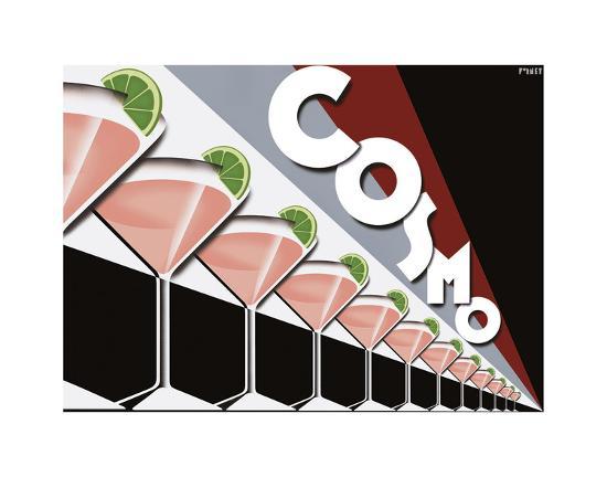 Cosmopolitan-Steve Forney-Art Print