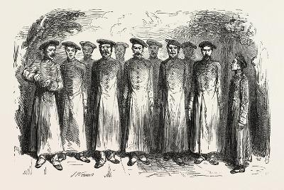 Cossack Songs by a Chorus of Russian Prisoners. 1855--Giclee Print