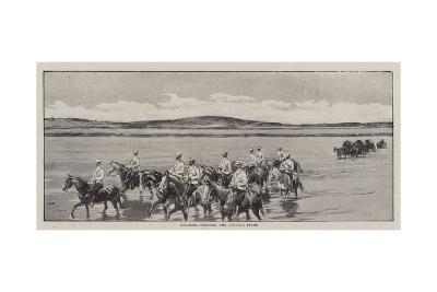 Cossacks Crossing the Bi-Li-He River--Giclee Print