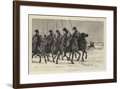 Cossacks on the March-John Evan Hodgson-Framed Giclee Print