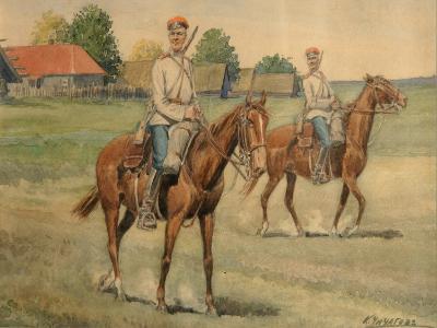 Cossacks-Konstantin Nikolayevich Chichagov-Giclee Print