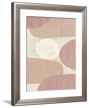 Costa del Sol II Blush-Michael Mullan-Framed Art Print