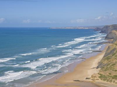 Costa Vincentina, Praia Do Castelejo and Cordama Beaches, Algarve, Portugal-Neale Clarke-Photographic Print