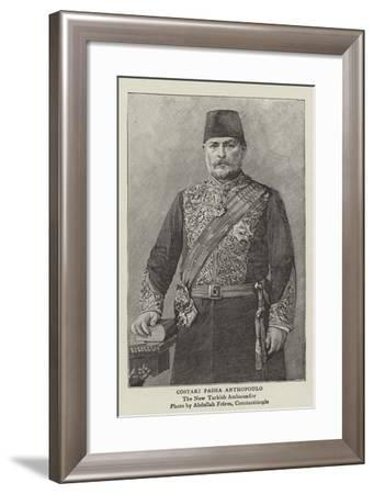 Costaki Pasha Anthopoulo--Framed Giclee Print