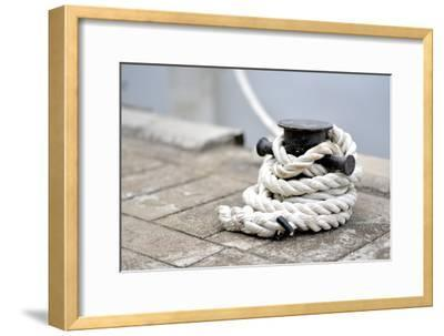 An Image of a Rope in a Port of USA