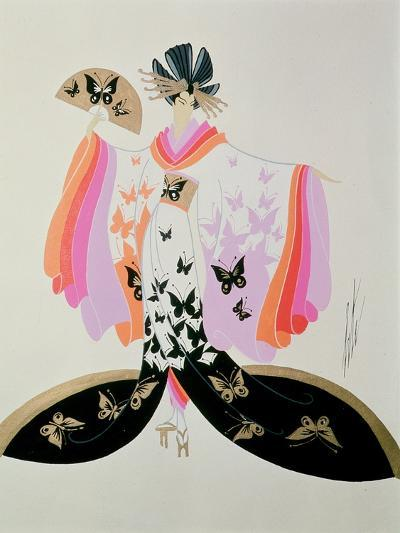 Costume Design for 'Madame Butterfly' by Puccini, 1945--Giclee Print