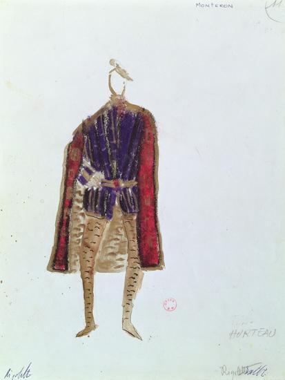 Costume Design for Monterone in the Opera 'Rigoletto'--Giclee Print
