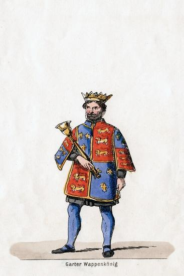 Costume Design for Shakespeare's Play, Henry VIII, 19th Century--Giclee Print