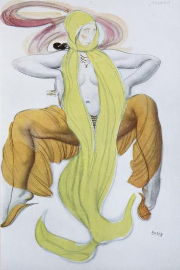 Costume Design for the Ballet La Légende De Joseph-L?on Bakst-Giclee Print