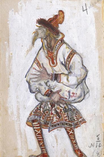Costume Design for the Ballet the Rite of Spring (Le Sacre Du Printemp), 1912-Nicholas Roerich-Giclee Print