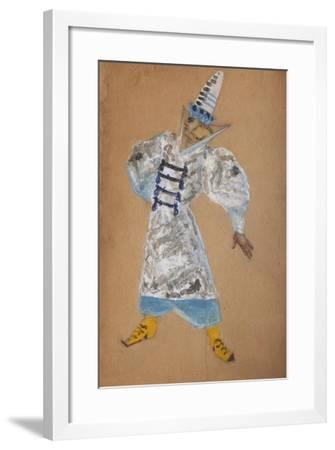 Costume Design for the Opera the Golden Cockerel by N. Rimsky-Korsakov-Sergei Vasilyevich Malyutin-Framed Giclee Print