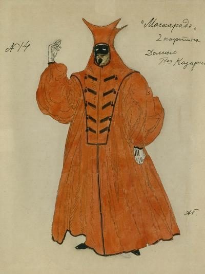 Costume Design for the Play the Masquerade by M. Lermontov, 1917-Alexander Yakovlevich Golovin-Giclee Print