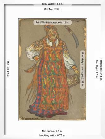 Costume Design For The Theatre Play Peer Gynt By H Ibsen Giclee Print Art Com