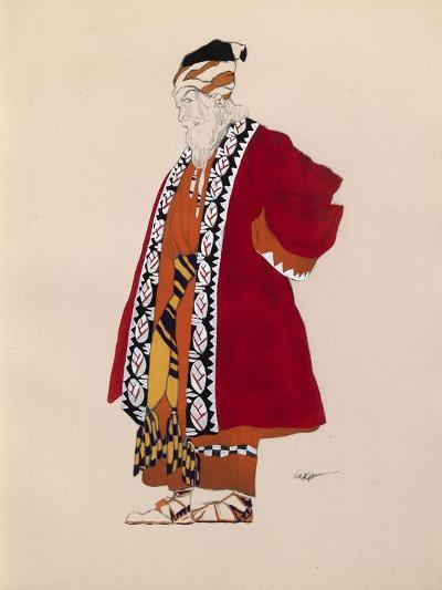 Costume Design-L?on Bakst-Giclee Print