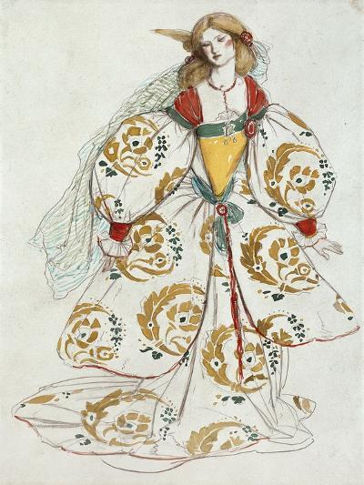 Costume Design-Charles Ricketts-Giclee Print