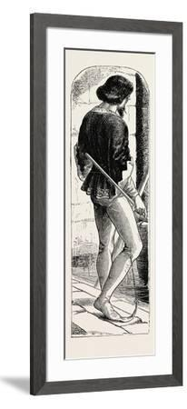 Costume from the Time of Richard II--Framed Giclee Print