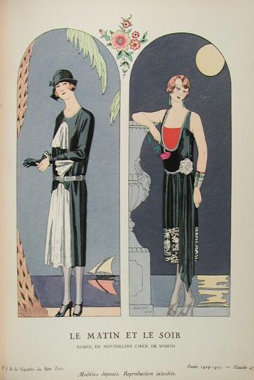 Costume Illustration by Georges Barbier--Art Print