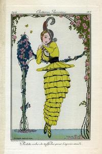 Costume Illustration by Gerda Wegener